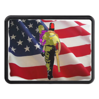 Shriner Carrying Child Trailer Hitch Covers