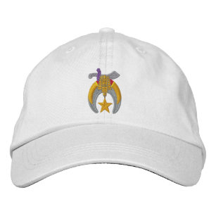 fb56c8df156 Shriner Embroidered Embroidered Baseball Cap