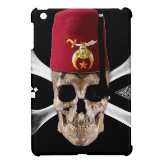 Shriner Masonic  Skull and Bones with Fez iPad Mini Covers