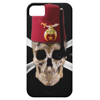 Shriner Masonic  Skull and Bones with Fez iPhone SE/5/5s Case