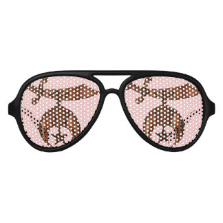 Shriner Party Shade Aviator Sunglasses