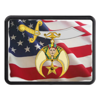 Shriner Personalized Trailer Hitch Covers