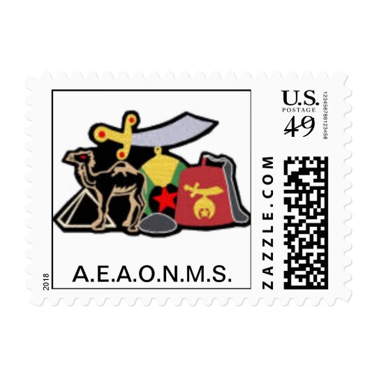 Shriner Postage Stamps
