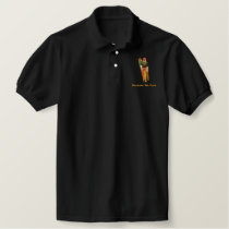 Shriner with small Child Embroidered Polo Shirt