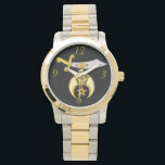 "Shriner Wrist Watch<br><div class=""desc"">Turn your ideas into reality!  Design with your own artwork by changing the image,  adding text or have our graphic design team create original artwork to suit your need.  Custom artwork designed for you 100% FREE so do not be afraid to ask for help! Just email us today.</div>"