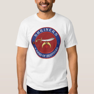 Shriners. A band of Brothers T Shirts