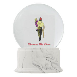 Shriners And Friends Snow Globe