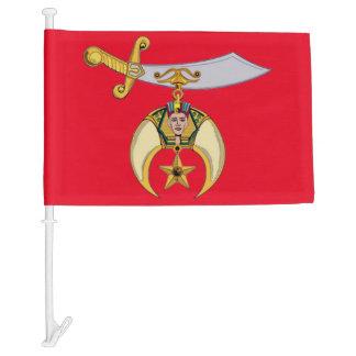 SHRINERS CAR FLAG