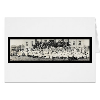 Shriners Ceremonial Photo 1920 Card