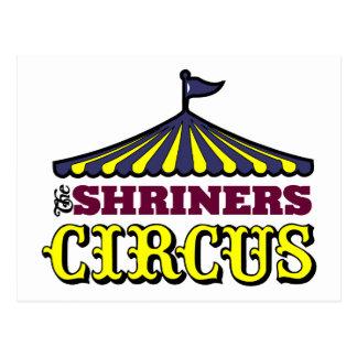 Shriners Circus Postcard
