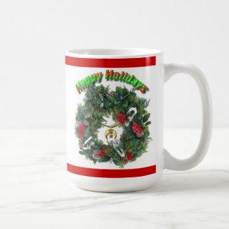 Shriners holidays coffee mugs