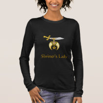 Shriner's Lady Long Sleeve T-Shirt