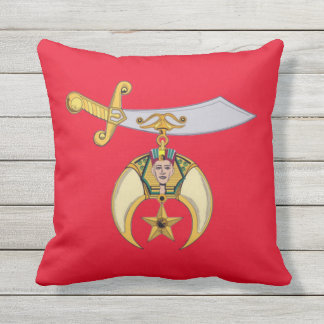 SHRINERS OUTDOOR PILLOW