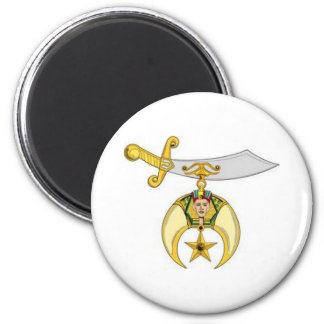 Shriners Products 2 Inch Round Magnet