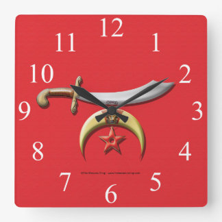 Shriners Wall Clock