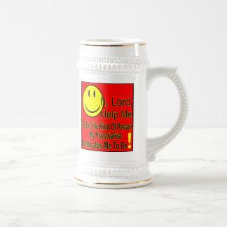 Shrink T, Light Colors Beer Stein