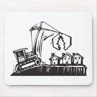 Shrinking City Mouse Pad