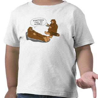 Shrink's Office Funny Sasquatch Cartoon Custom T-shirts