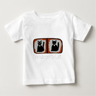 Shrodinger Cat Science Cartoon Baby T-Shirt
