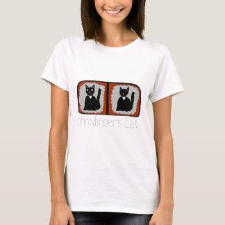Shrodinger Cat Science Cartoon T-Shirt