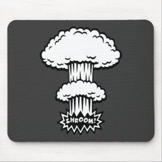 SHROOM! -b/w Mouse Pad