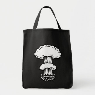 SHROOM! -b/w Tote Bag