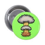SHROOM! -color 2 Inch Round Button