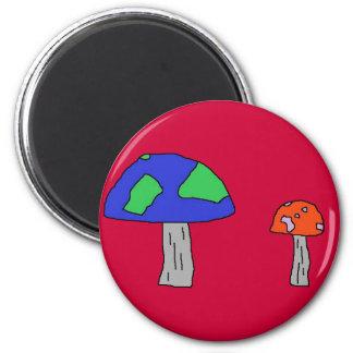 Shroom magnet