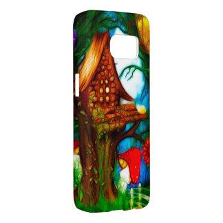 Shroom Valley Fantasy Art Case