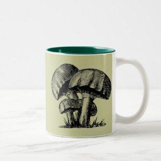 'Shrooms Two-Tone Coffee Mug