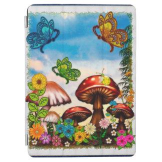 Shroomvilla Summer Whimsical Fantasy Art iPad Air Cover