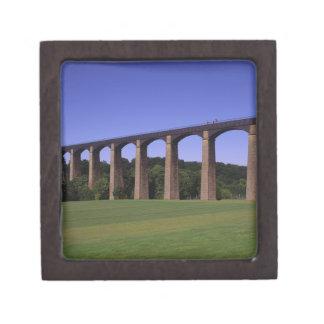 Shropshire Union Canal Aqueduct, Pont Cysyllte, Keepsake Box