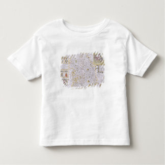Shropshyre, engraved by Jodocus Hondius Toddler T-shirt