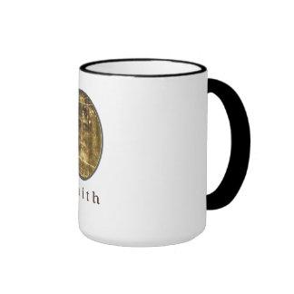 Shroud of Turin art Ringer Coffee Mug