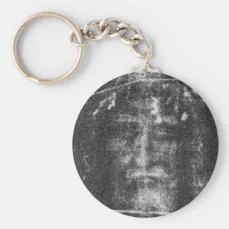 Shroud Of Turin Basic Round Button Keychain