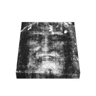 Shroud of Turin Canvas Print