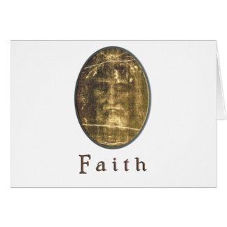 Shroud of Turin christian card