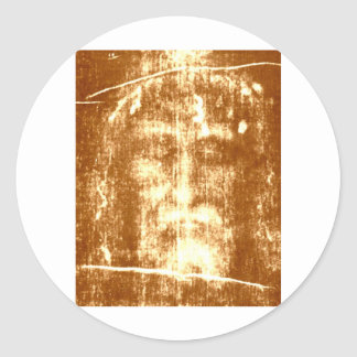 SHROUD of TURIN Classic Round Sticker