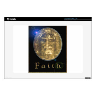 """Shroud of Turin Designs on products 15"""" Laptop Decal"""