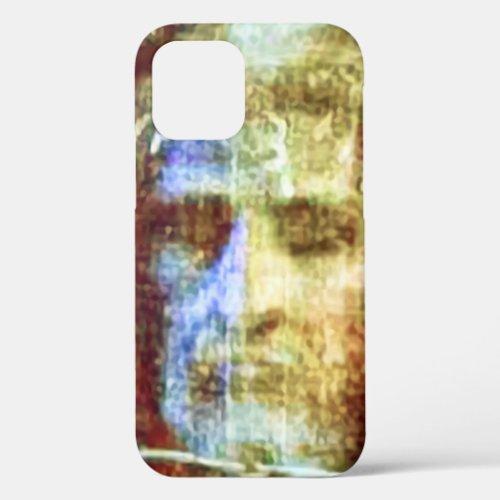 Shroud of Turin Face Jesus Christ Colorized Phone Case