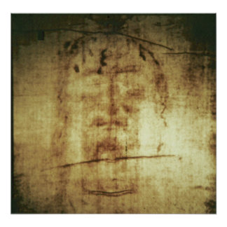 Shroud of Turin, Face View Poster