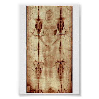 Shroud of Turin (Front Body full size) Poster