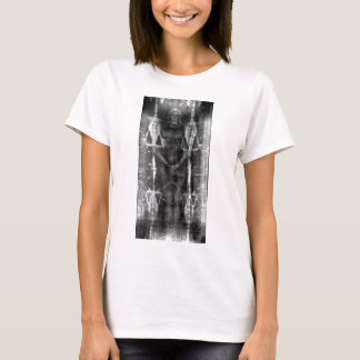 Shroud of Turin, Frontal View Negative T-Shirt