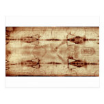 Shroud of Turin, Frontal View Post Card