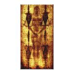 Shroud Of Turin : Jesus Christ Canvas Print