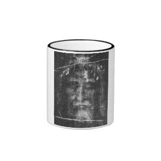 Shroud of Turin Ringer Coffee Mug