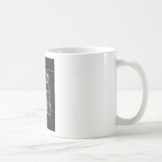 Shroud Of Turin, Negative Classic White Coffee Mug