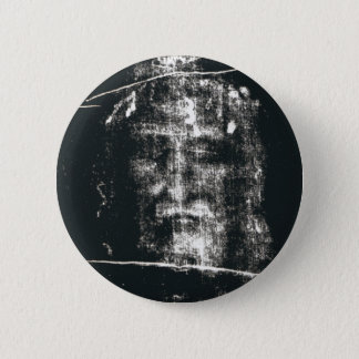 Shroud Of Turin, Negative Pinback Button