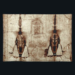 "shroud of turin placemat<br><div class=""desc"">shroud of turin placemat--ideal for last suppers!</div>"