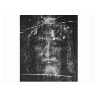 Shroud Of Turin Postcard